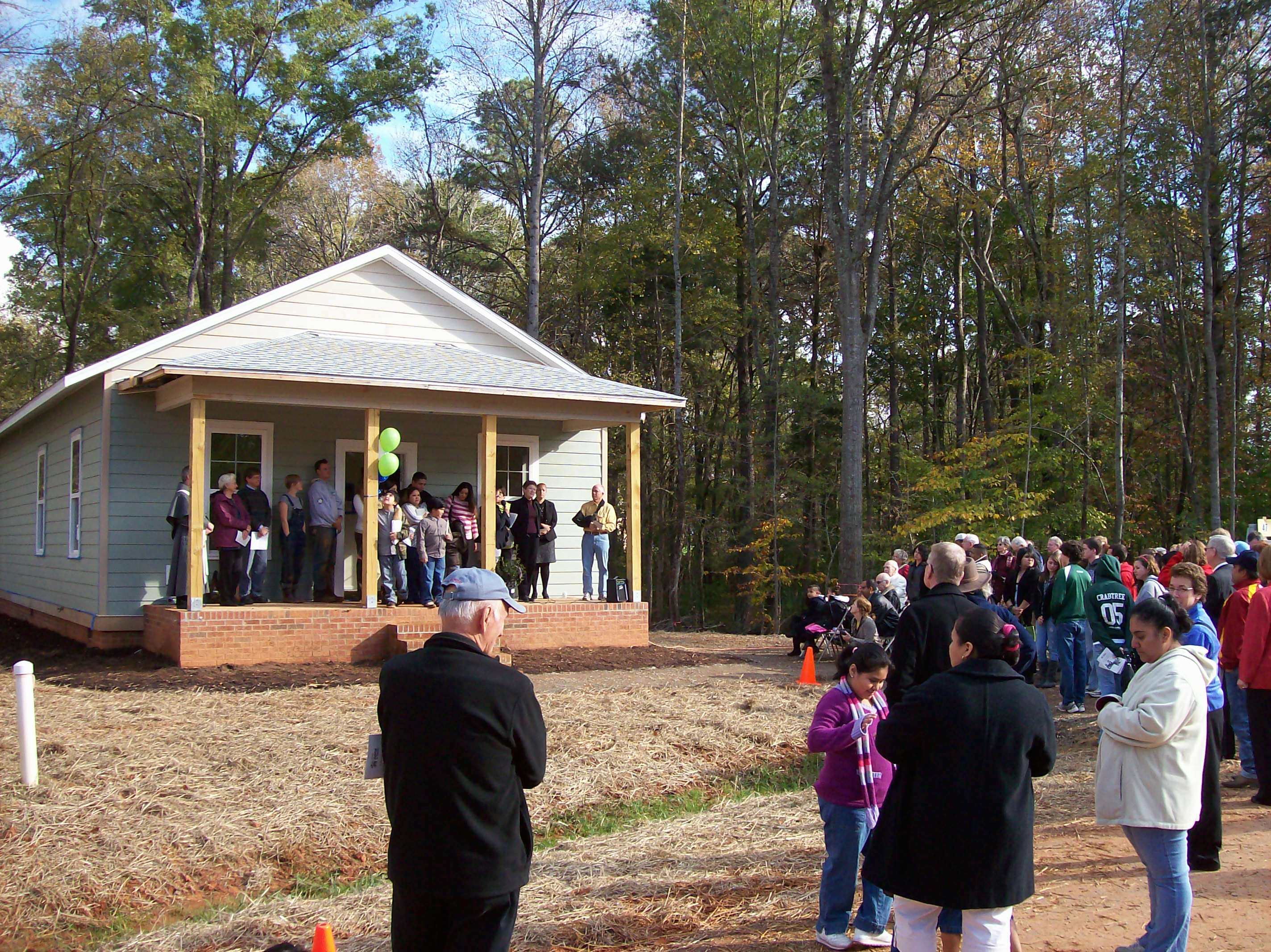 Chatham County Habitat's 100th Home!