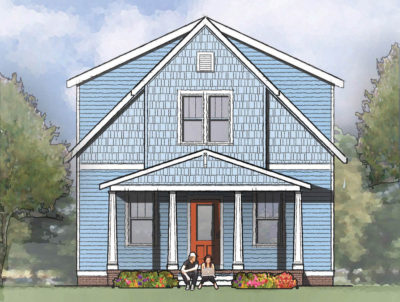 The Alston Single Family House Plan