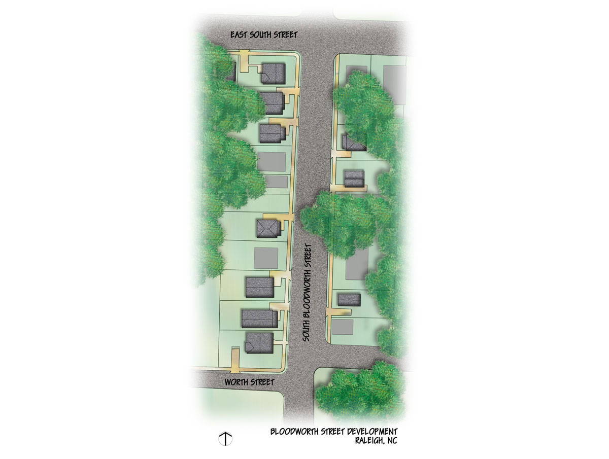 Bloodworth Street: Site Plan