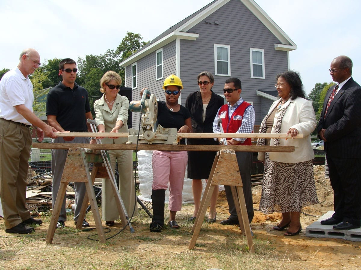 "Ground Breaking with ""Board Cutting"" Ceremony"