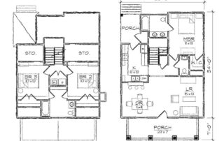 Brookestone II Floor Plan
