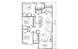 Carson I Floor Plan