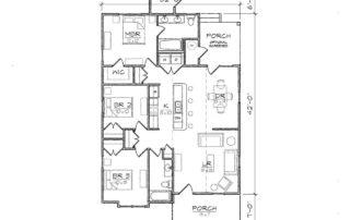Carson II Floor Plan
