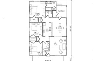 Clarke III Floor Plan