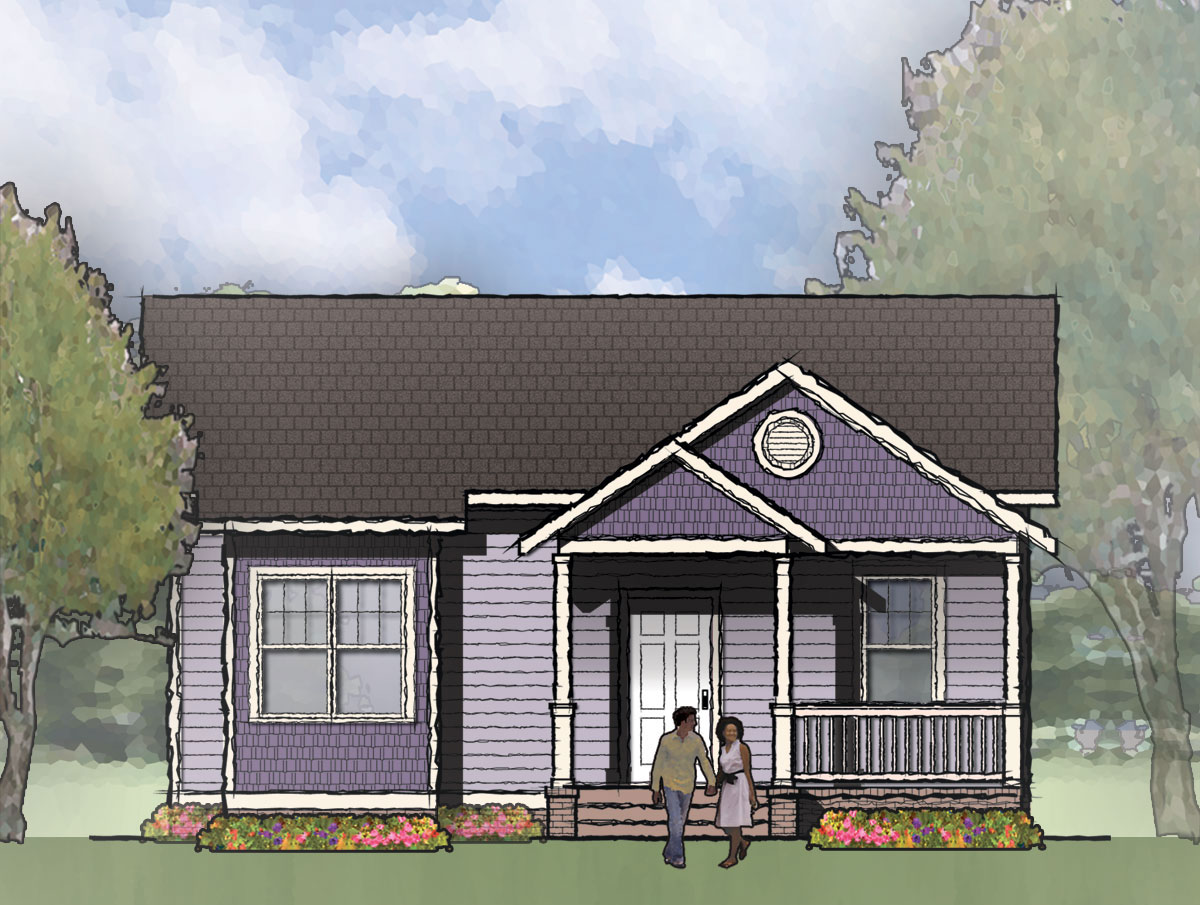 The Dawson Single Family House Plan