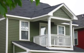 Foxgate, Porch Photo