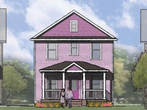 Fulton Front Rendering
