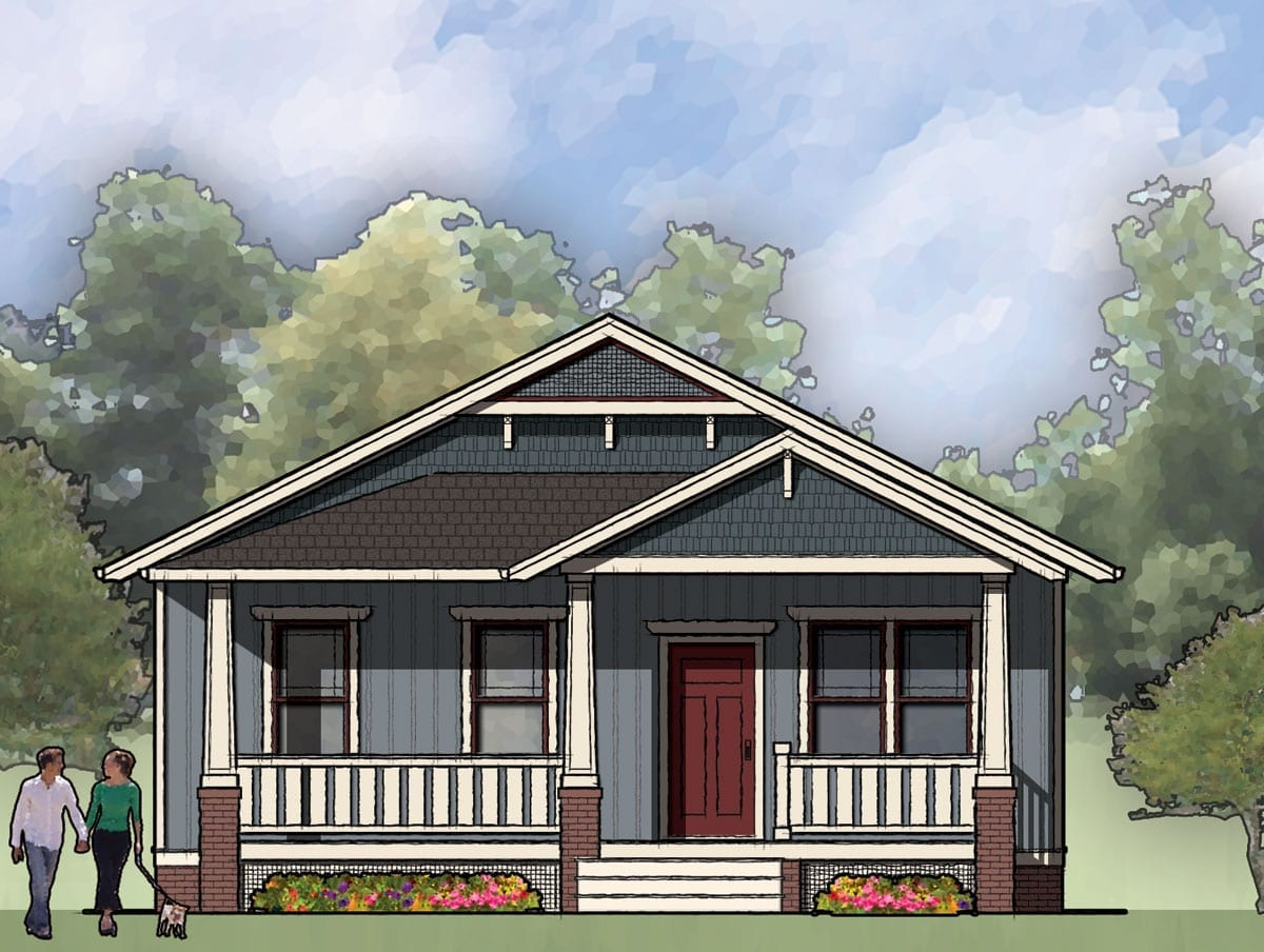 The Halifax, Bungalow House Plan