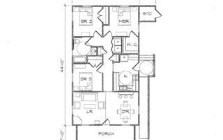 Haywood I Accessible Floor Plan