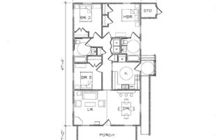 Haywood II Accessible Floor Plan