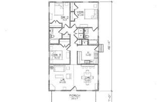 Haywood II Floor Plan
