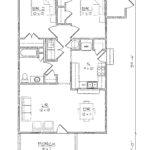 Hinsdale 2 Bedroom Floor Plan