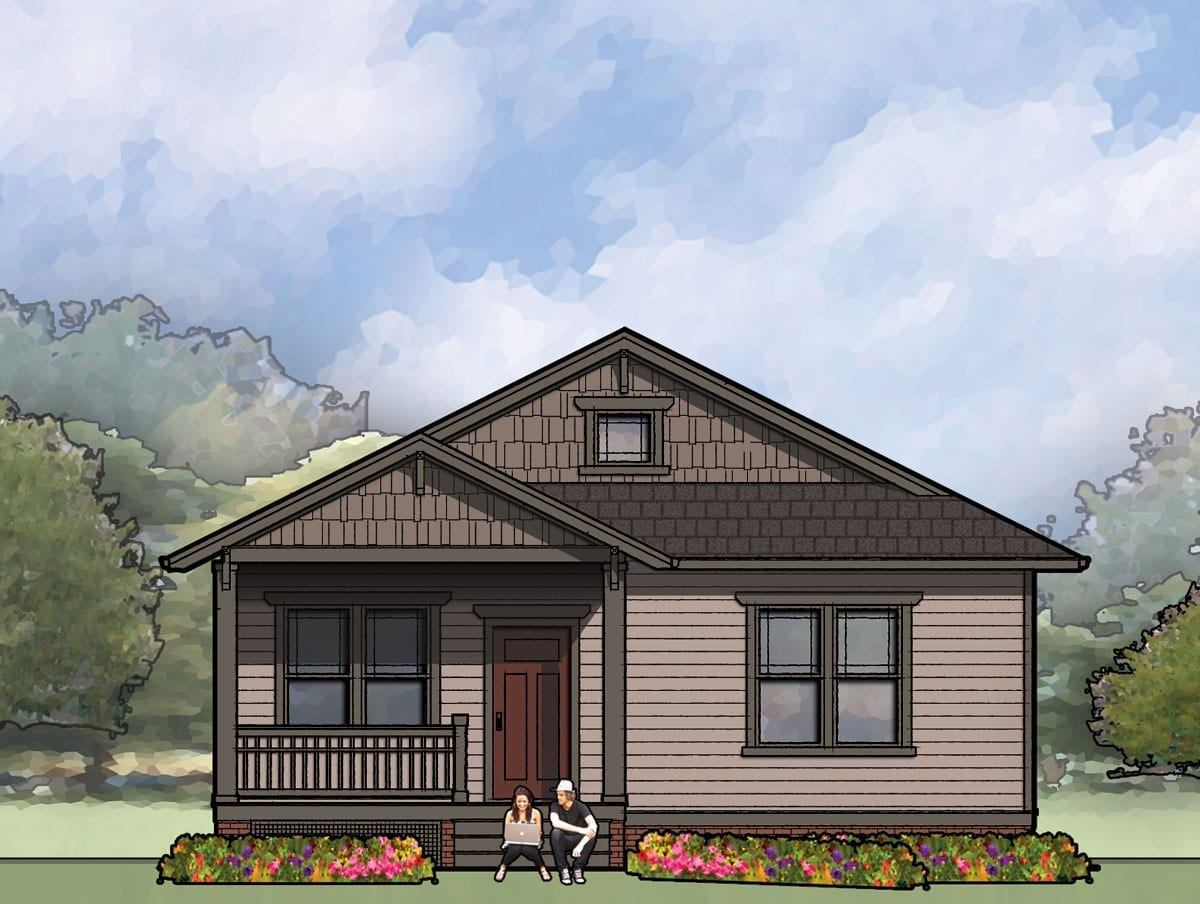 The Jackson, Bungalow House Plan