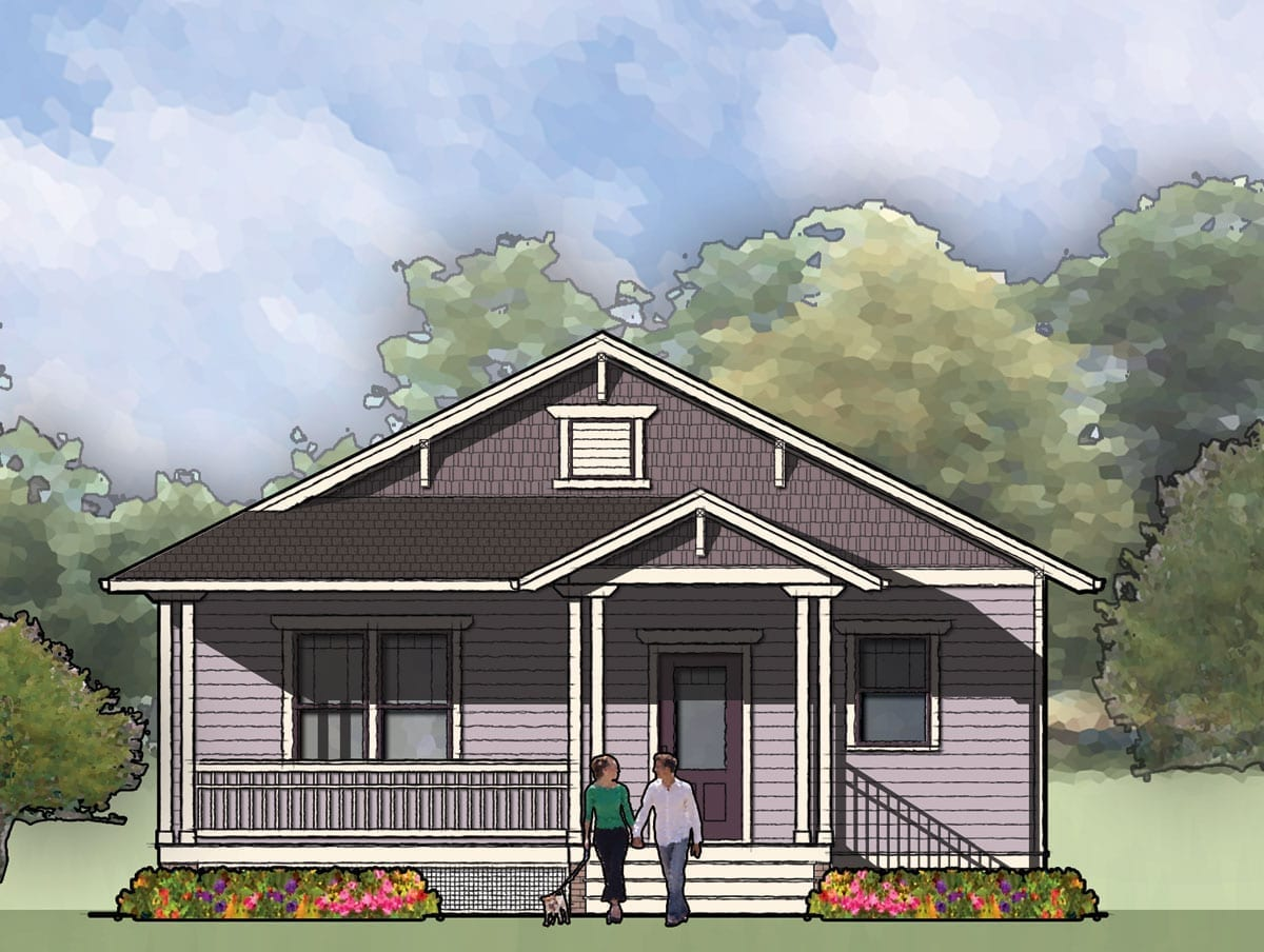 The Jones, Bungalow House Plan