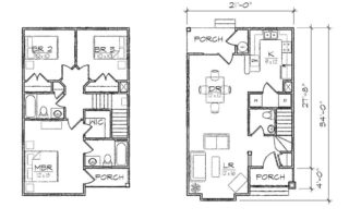 Madison I Floor Plan