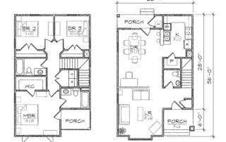 Madison II Floor Plan