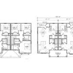Malone Duplex Floor Plan