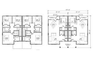 Maple Duplex Floor Plan