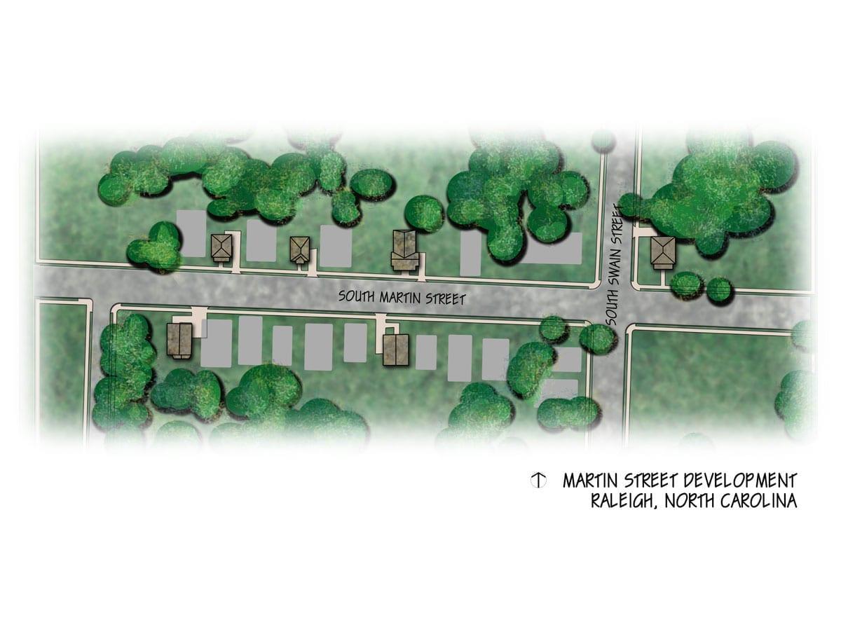 Martin Street: Site Plan
