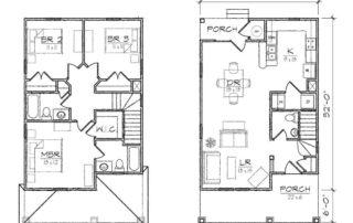 Monique II Floor Plan