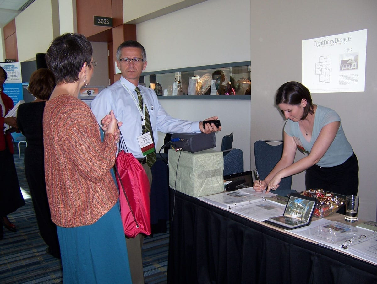 NC Affordable Housing Conference, TightLines Designs Display