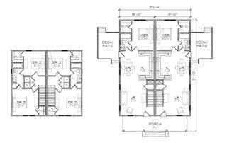 Nowell Duplex Floor Plan