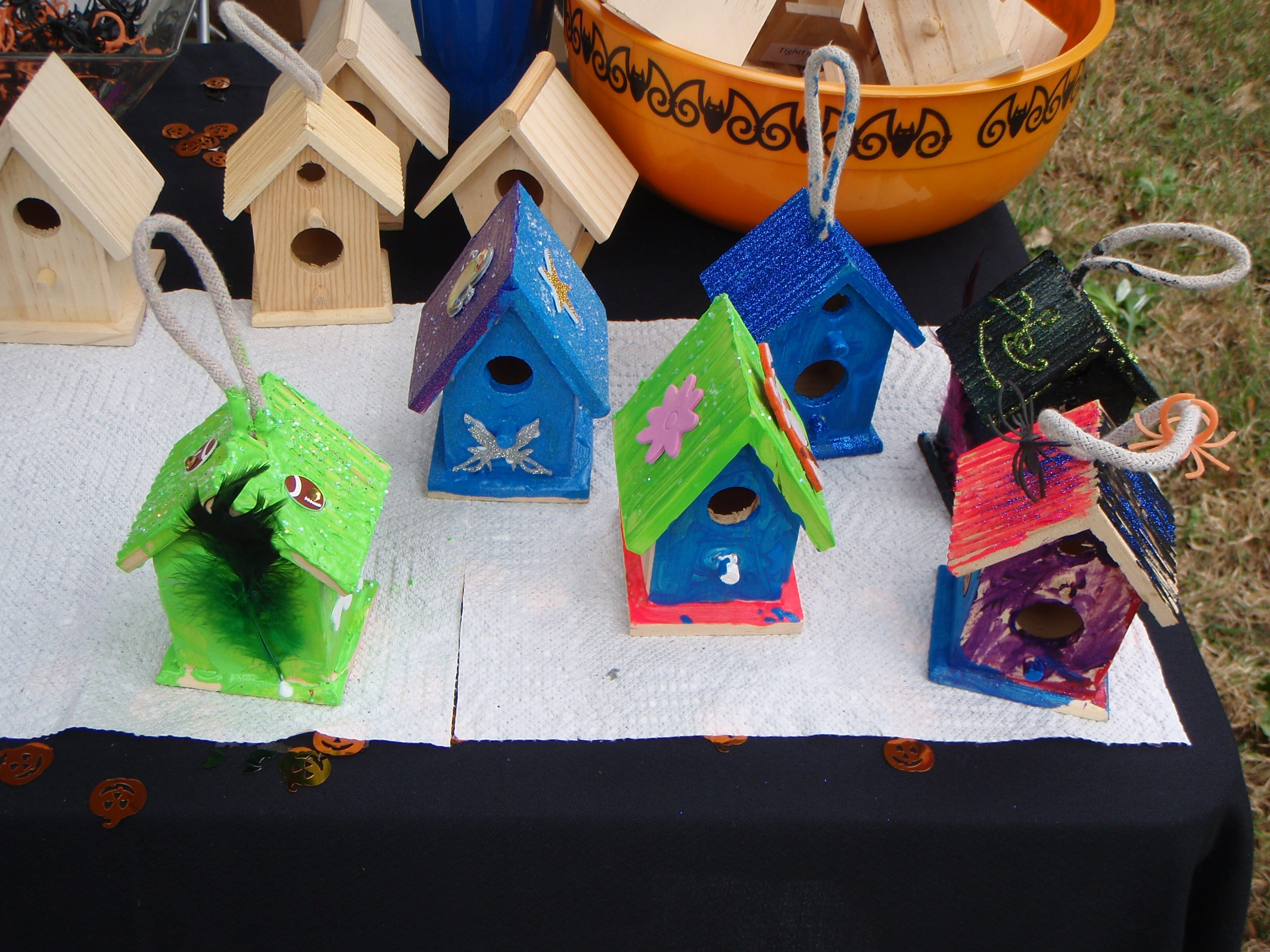 Gorgeous Bird Houses!