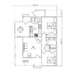 Warren 2 Bedroom Floor Plan