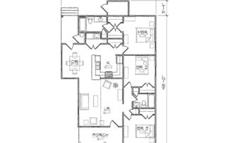 Whitney II Floor Plan