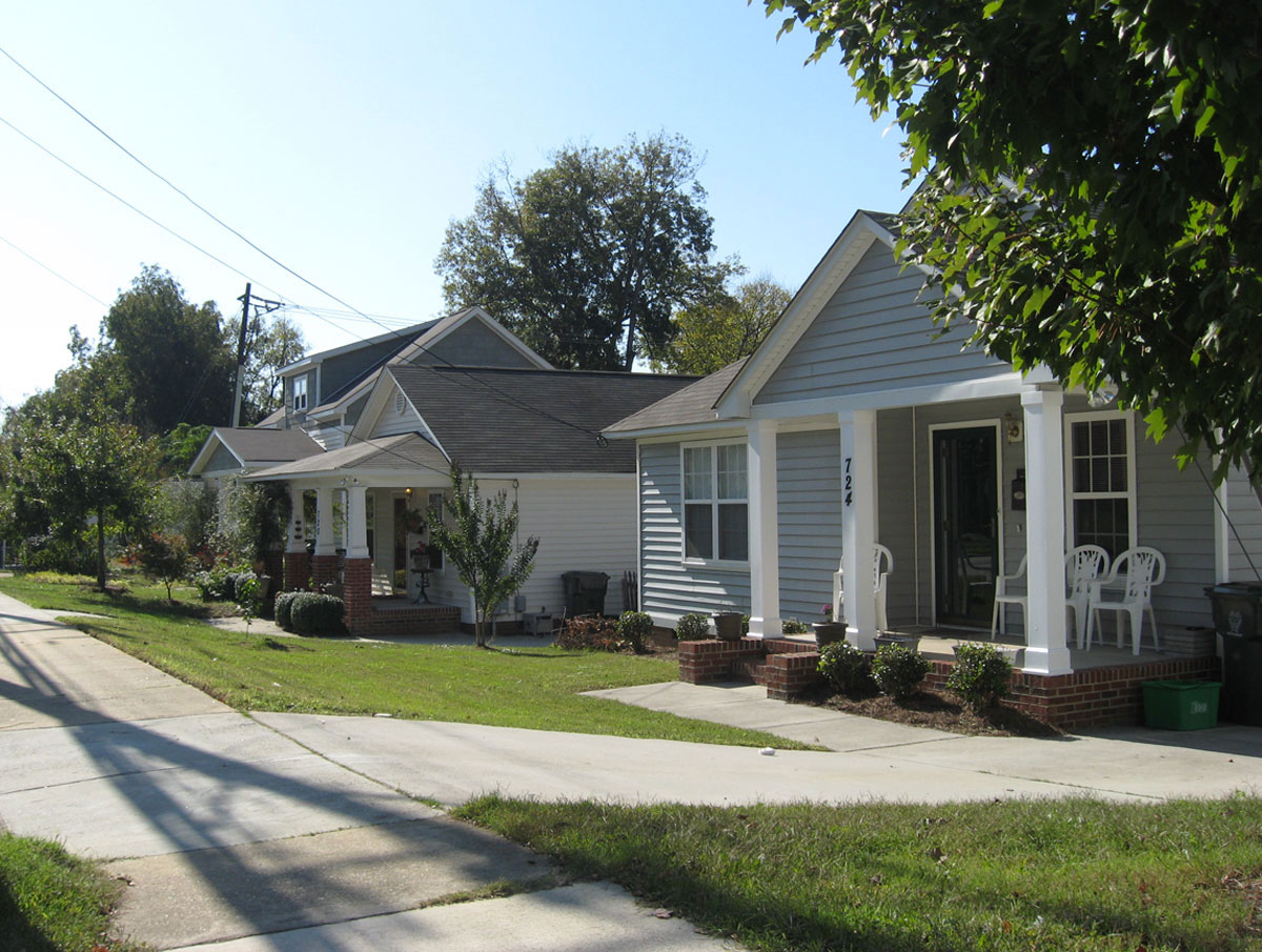 Bloodworth Street: Carolinian, Haywood, & Bentley