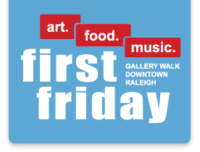 First Friday in Raleigh