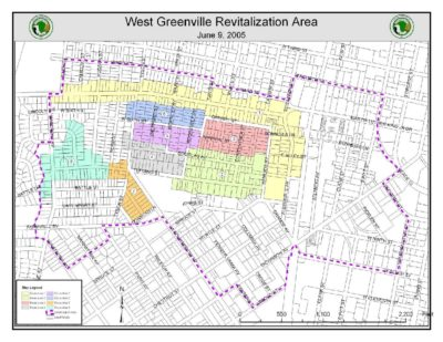 Downtown Greenville Revitalization Area