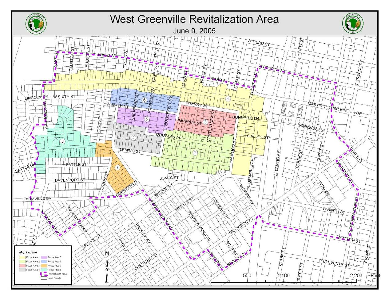 Downtown Greenville Revitalization Area